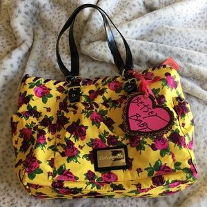 Betsey Johnson Baby Bag NWT